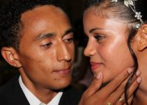 Aniversário de 4 anos de casamento do casal mozim
