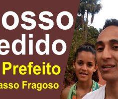 Pedido do casal mozim para o atual prefeito de Tasso fragoso