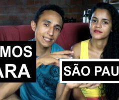 Casal mozim se preparando para viajar para São Paulo